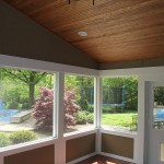 Wyoming screened porch interior