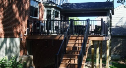 Azek decking and American Aluminum railings